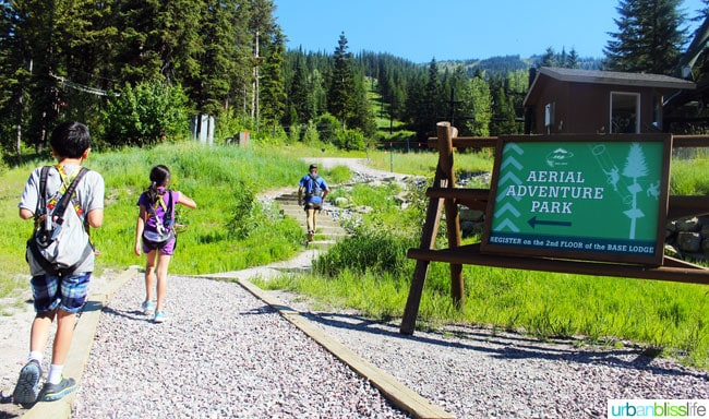 Whitefish Mountain Resort Summer Activities on UrbanBlissLife.com