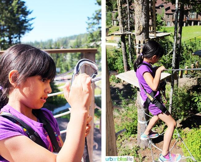 Whitefish Mountain Resort aerial park