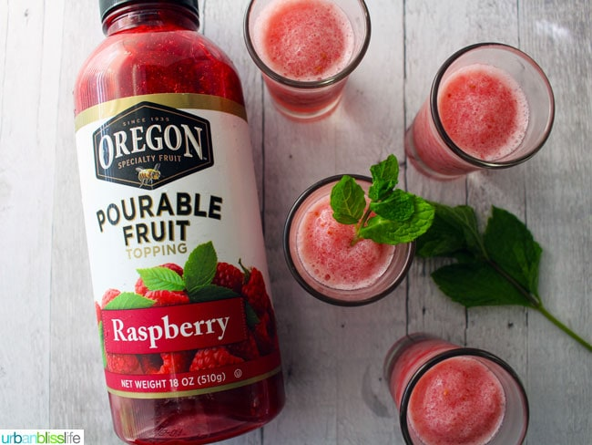 oregon pourable fruit raspberry