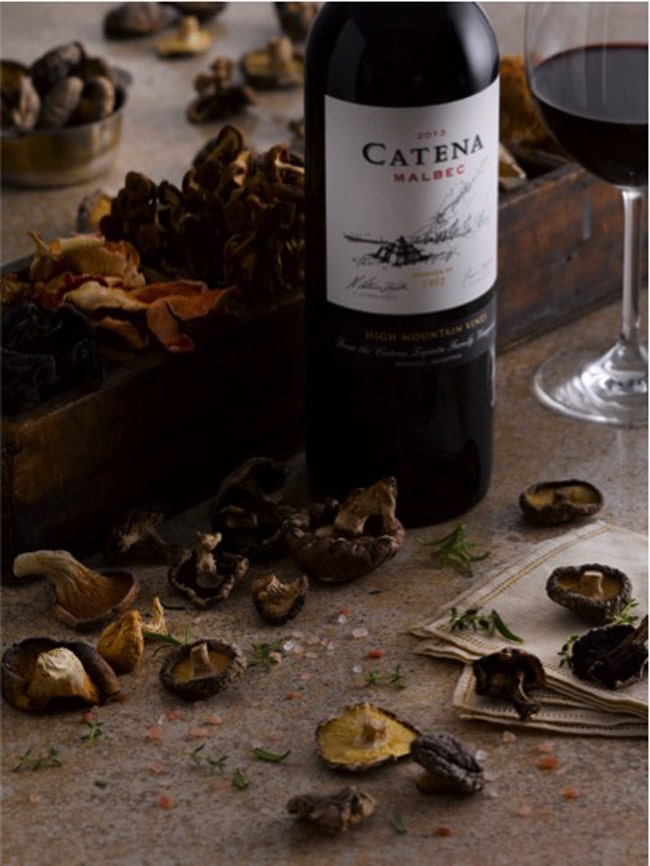 Food + Wine Bliss: Catena Malbec + Mushrooms Cook-Off
