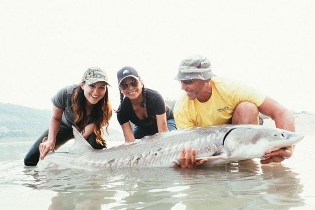 fishing in british columbia - sturgeon
