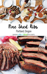 Pine Shed Ribs restaurant in Portland, Oregon on UrbanBlissLife.com