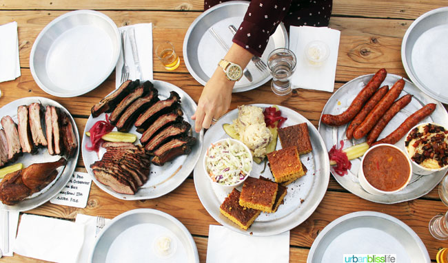 BBQ in Portland: Pine Shed Ribs restaurant