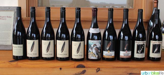 Raptor Ridge Winery Pinot Noir - Oregon Wine Country - UrbanBlissLife.com