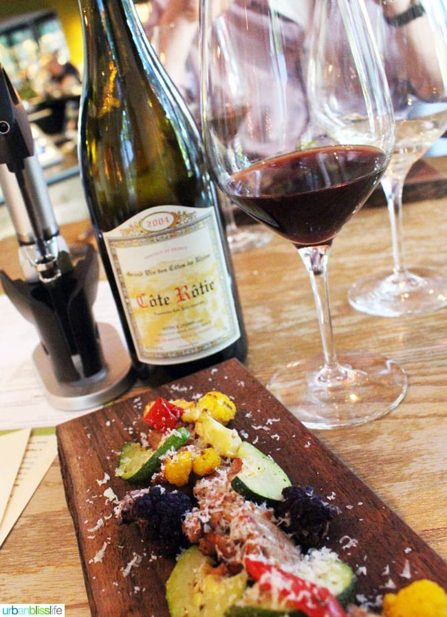 cote rotie wine and food