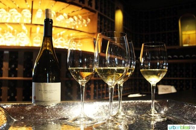 Willamette Valley Vineyards white wine
