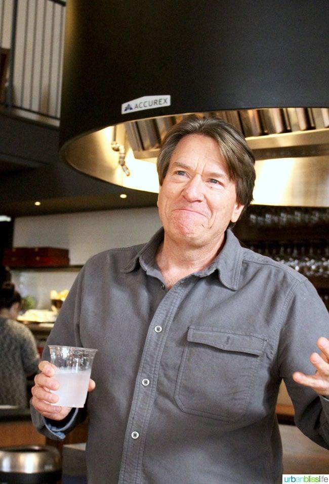 Owner Jim Bernau of Willamette Valley Vineyards