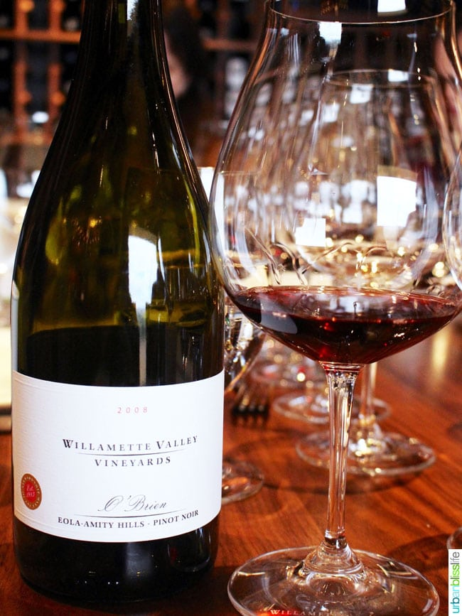 Willamette Valley Vineyards pinto noir