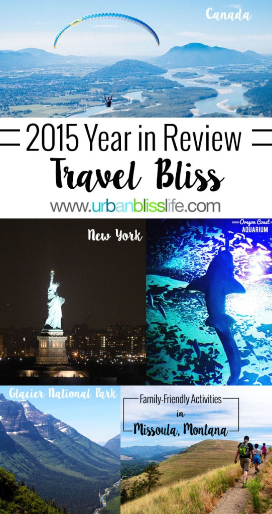 Travel Bliss: 2015 Year in Review
