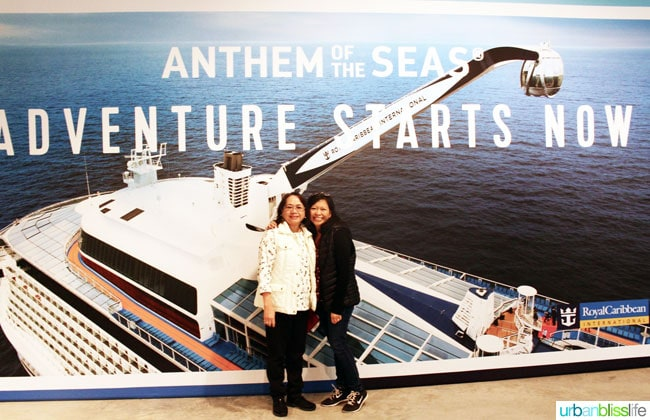 anthem of the seas sign