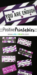 Free Positive Printables by UrbanBlissLife.com