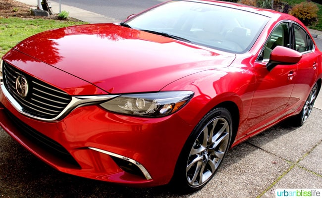 2016 Mazda6 car review on UrbanBlissLife.com