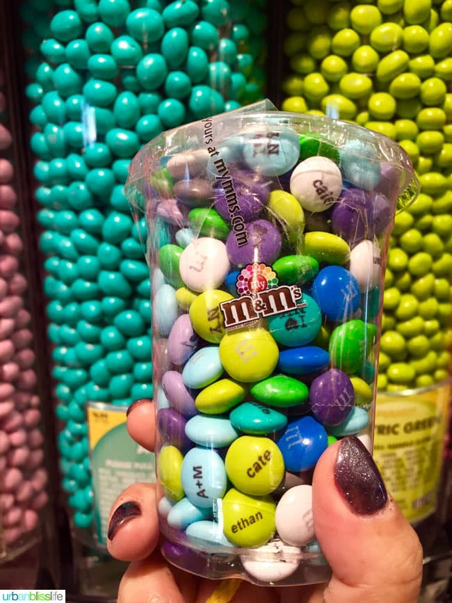What to do in NYC for a Day: M&M store NYC