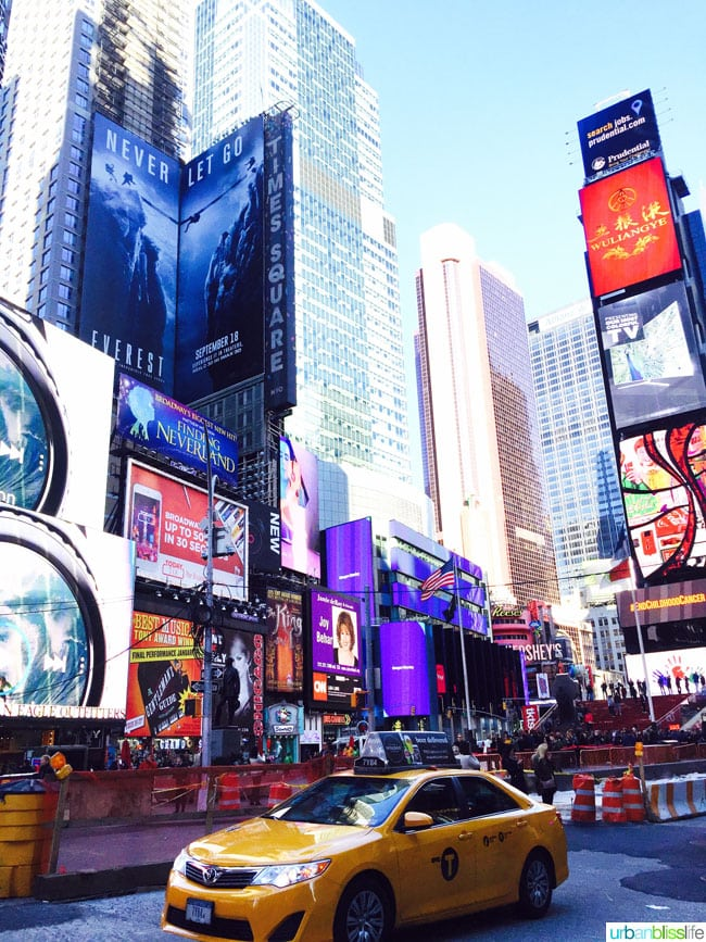 5 hours in NYC: Times Square