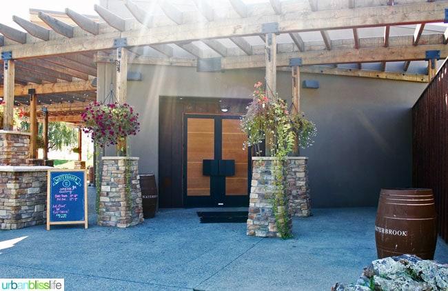 Waterbrook Winery exterior