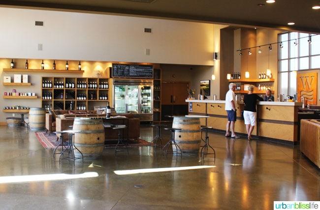 Waterbrook Winery tasting room
