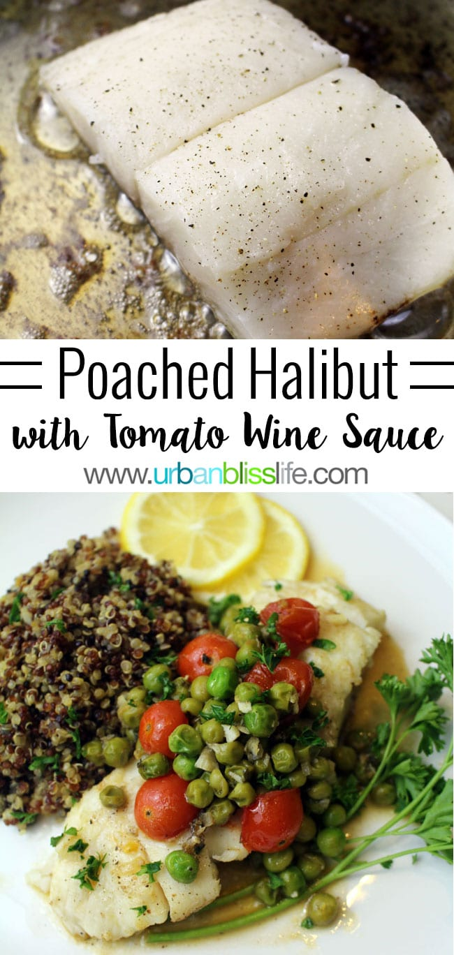 Get this simple halibut recipe on UrbanBlissLife.com