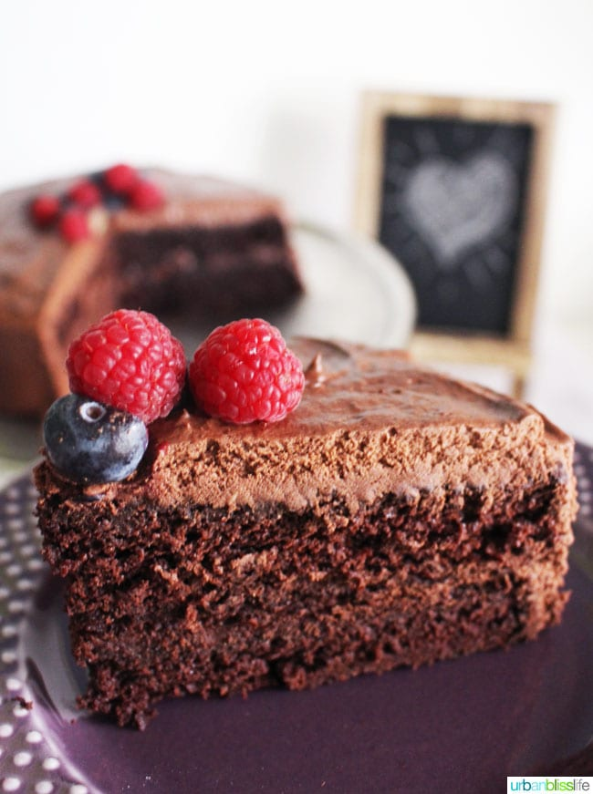 Food Bliss: Vegan Chocolate Cake That Everyone Will Love!