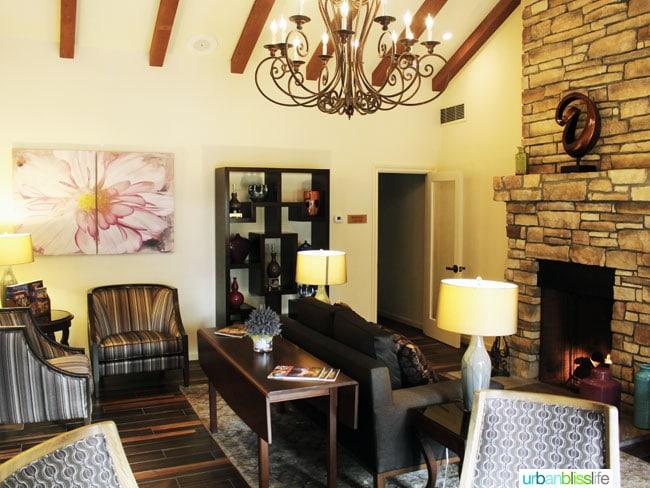 Vintners Inn Santa Rosa lobby