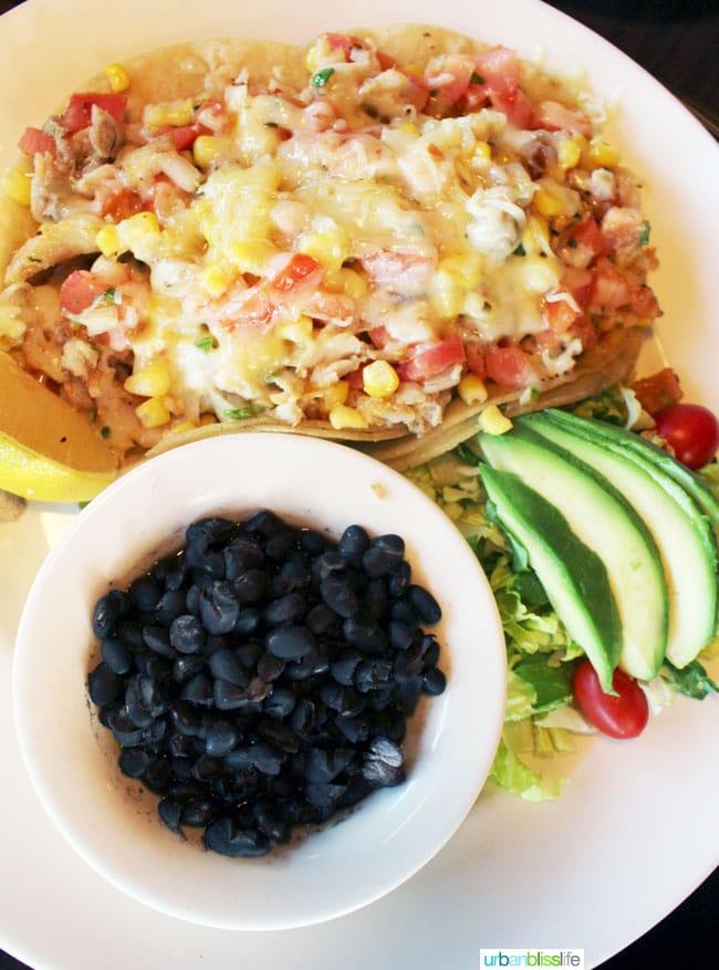 Rockfish tacos at Wayfarer Restaurant in Cannon Beach