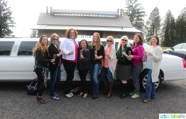 Birthday Wine Tasting in Oregon with UrbanBlissLife.com