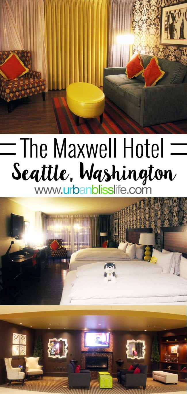 Where to Stay in Seattle, Washington: The Maxwell Hotel Seattle, on UrbanBlissLife.com