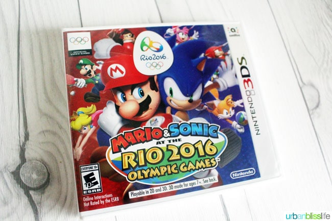 Mario & Sonic at the Rio 2016 Olympic Games - UrbanBlissLife.com