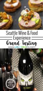2016 Seattle Wine & Food Experience: Grand Tasting, on UrbanBlissLife.com