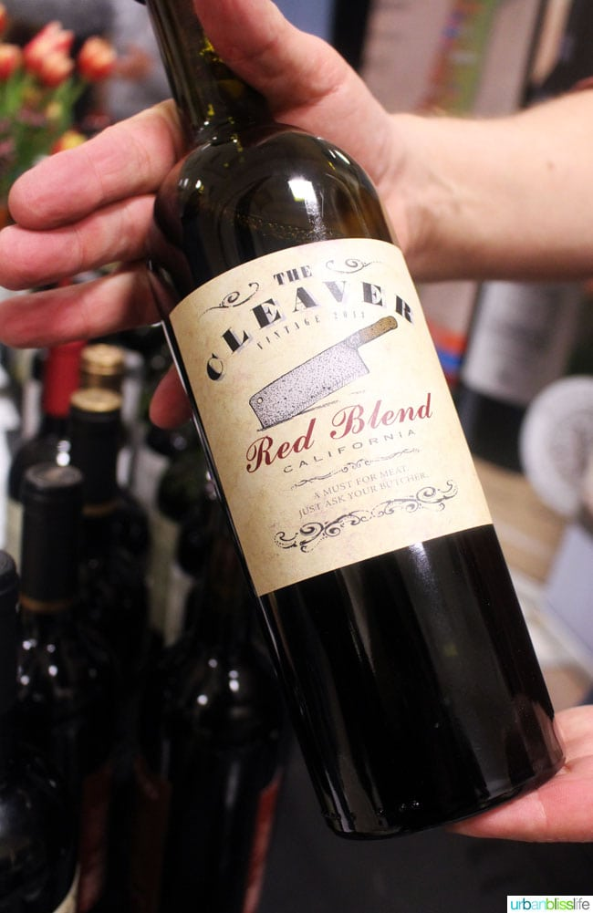 the cleaver red blend wine