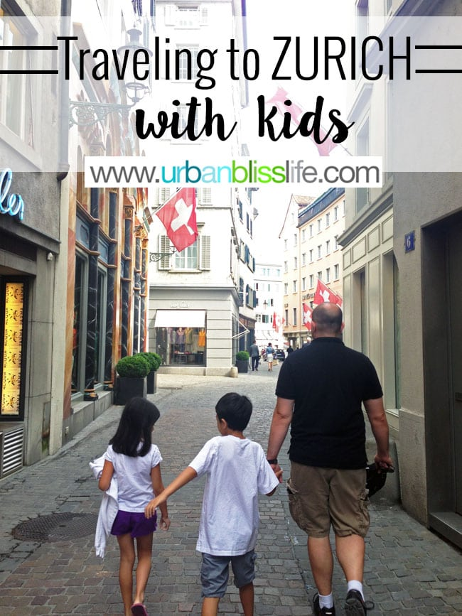 Travel Bliss: Traveling to Zurich With Kids