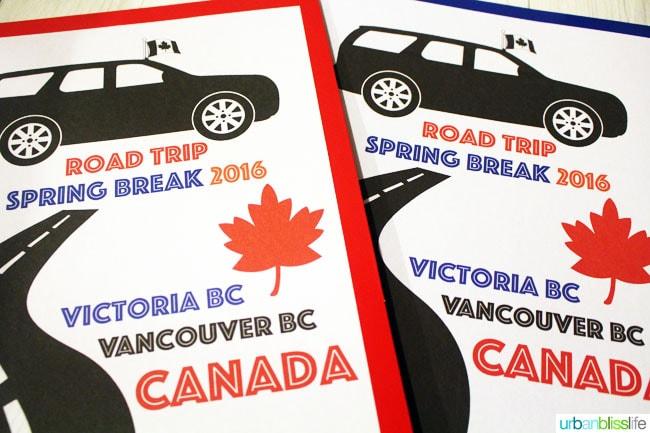 kids road trip kits