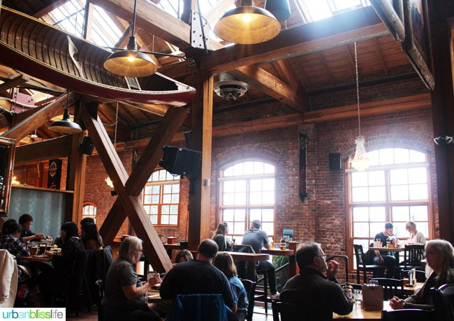 Where to Eat & Drink in Victoria BC: Canoe Brewery, on UrbanBlissLife.com