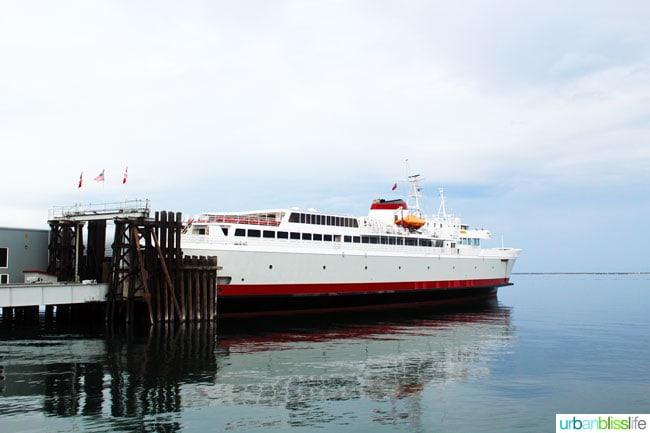 Portland to Victoria BC: Ferry port angeles, washington