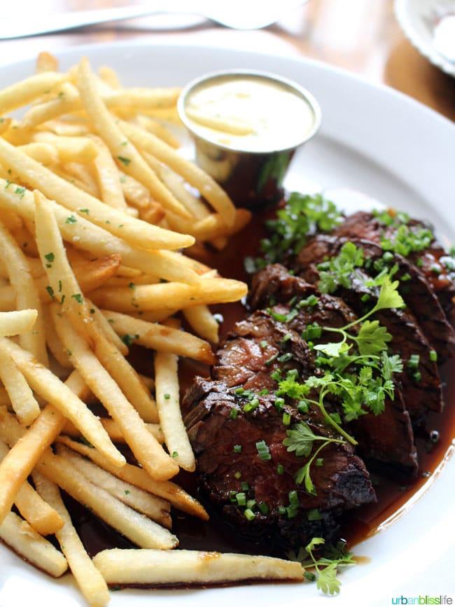 Portland French restaurant: St Jack steak frites