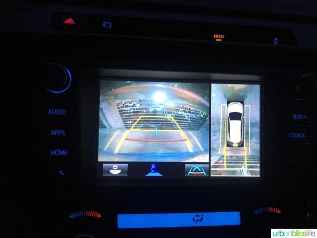 2016 Toyota Rav4 backup cam