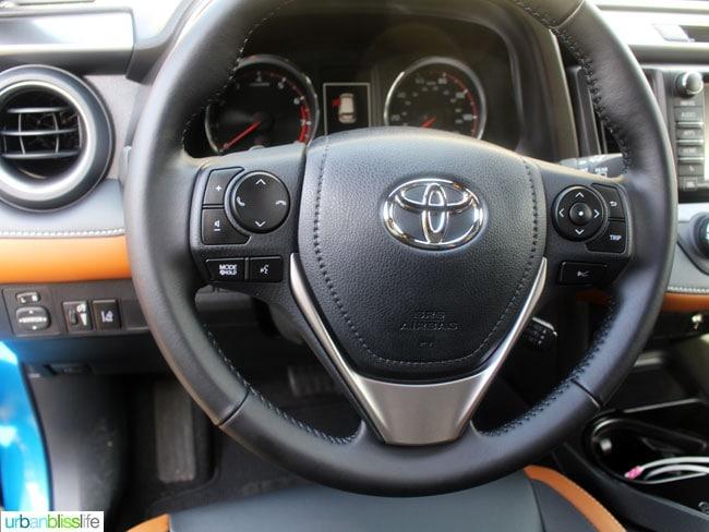 2016 Toyota Rav4 car review on UrbanBlissLife.com