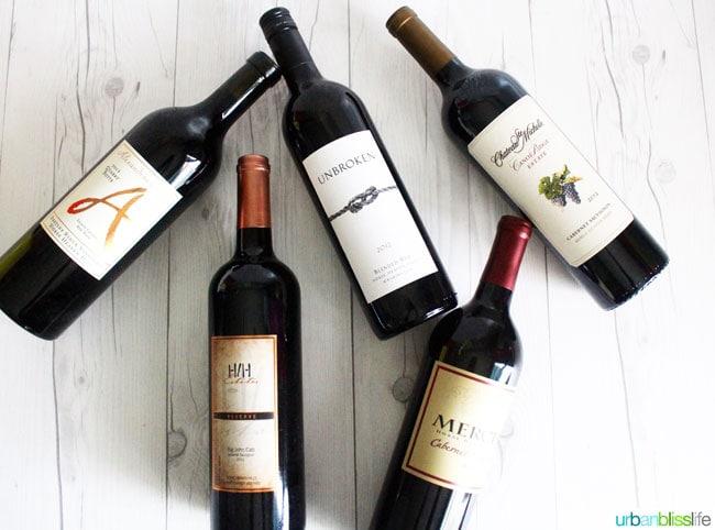 washington wines spring 2016