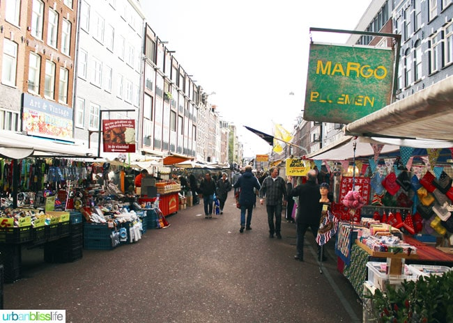 Food travel bliss where to eat and drink in amsterdam for Outdoor food market