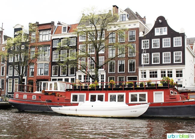 Where to Stay in Amsterdam: Houseboats