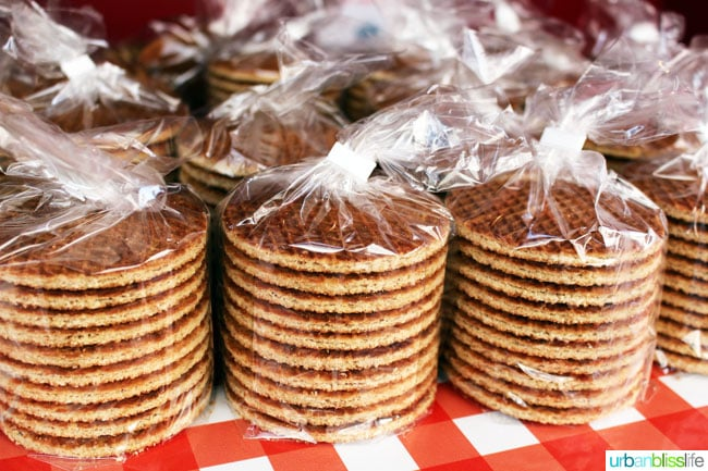 Classic Dutch Stroopwafel - 48 Hours in Amsterdam on UrbanBlissLife.com
