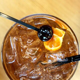Old Man River, a delicious and refreshing bourbon-based cocktail recipe on UrbanBlissLife.com