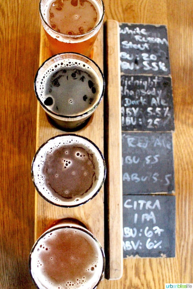 Where to Eat & Drink in Vancouver BC Canada: Big Rock Brewery. Restaurant & Brewery Tour review on UrbanBlissLife.com