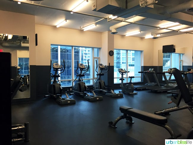 Coast Coal Harbour Hotel fitness center