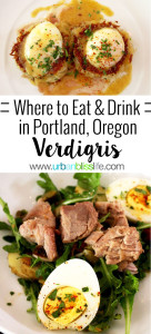 Verdigris restaurant weekday brunch in Portland, Oregon. Full restaurant review on UrbanBlissLife.com