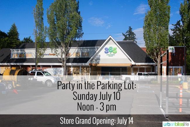 365 by Whole Foods Market grand opening in Lake Oswego, Oregon on UrbanBlissLife.com
