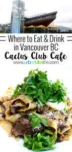 Cactus Club Cafe Vancouver BC Canada restaurant review on UrbanBlissLife.com