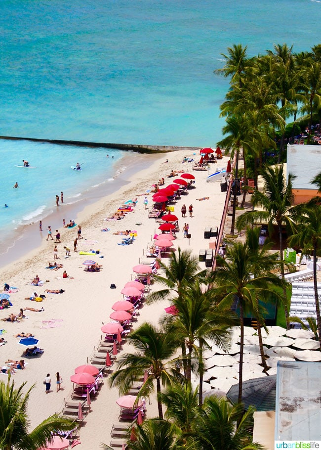 Where to stay in Waikiki Honolulu Oahu: Outrigger Waikiki Beach Resort hotel review on UrbanBlissLife.com