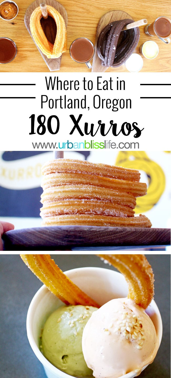 Churros Portland: 180 Xurros (churros and chocolate!) Portland, Oregon restaurant review on UrbanBlissLife.com