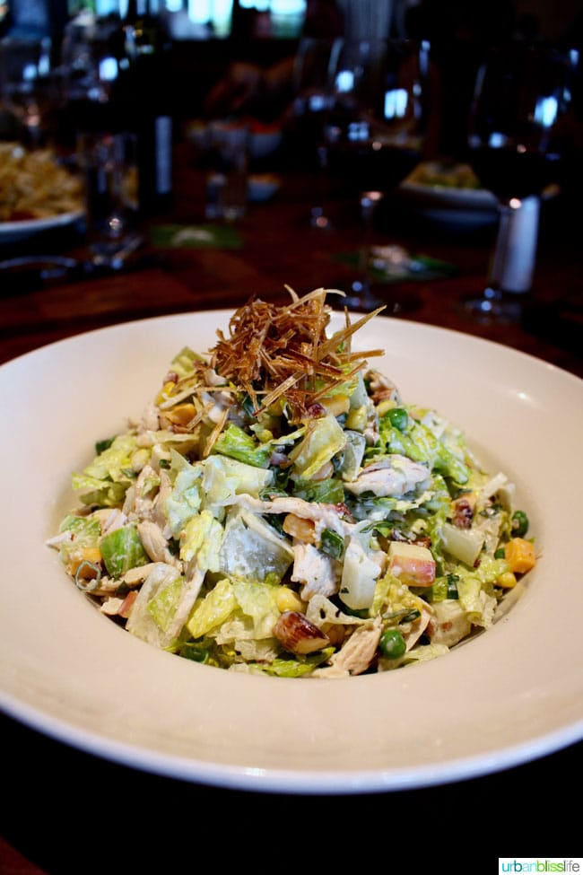 Places to eat in Yakima, Washington: Cowiche Canyon Restaurant rotisserie chicken salad