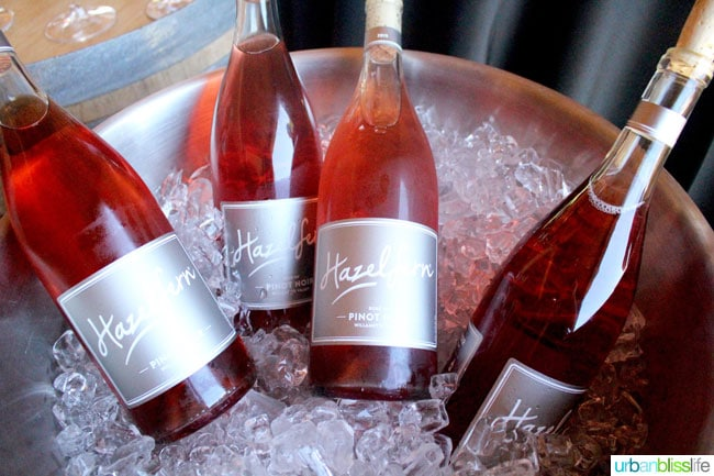 Hazelfern Cellars rose of pinot noir